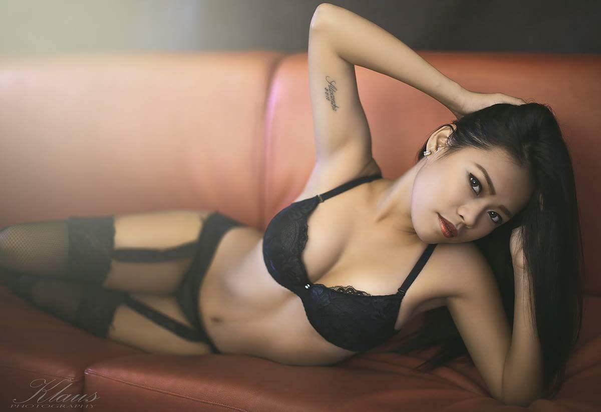 Asiatische Freundin